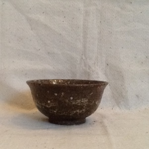 Tea Bowl-George Gledhill-Wood Fire Stoneware-3 1/4 in x 6 1/4in-$25.00-item #GG34