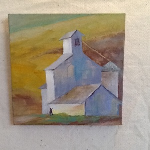 Daily Bread-Pam Grant-Acrylic on Canvas-12in x 12in-$135.00