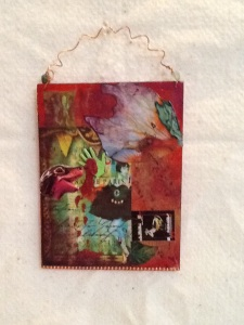 Remembering Paris-Kimi Boylan-Mixed Media on Panel-8 1/2in x 5in-$20.00