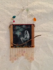 Night Dreamer-Kimi Boylan-Mixed Media on Panel-9 1/2in x 4 1/2in-$18.00