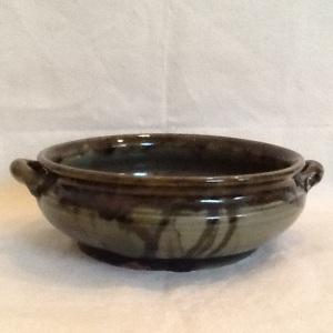 Casserole-George Gledhill-Stoneware-3 1/2in x 12in-$75.00-item #GG3