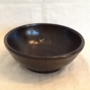 Bowl-George Gledhill-Stoneware-2 1/4in x 6 1/2in-$15.00-item #GG13