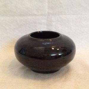 Vase-Gorge Gledhill-Stoneware-2 3/4in x 5in-$20.00-item #GG22