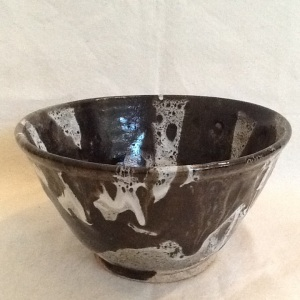 Bowl-George Gledhill-Stoneware-5 1/2in x 10in-$45.00-item #GG5