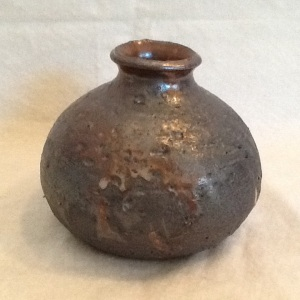 Vase-George-George Gledhill-Wood Fire Stoneware-4in x 5in-$45.00-item #GG20