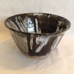 Bowl-George Gledhill-Stoneware-6in x 10 1/2in-$50.00-item #GG6